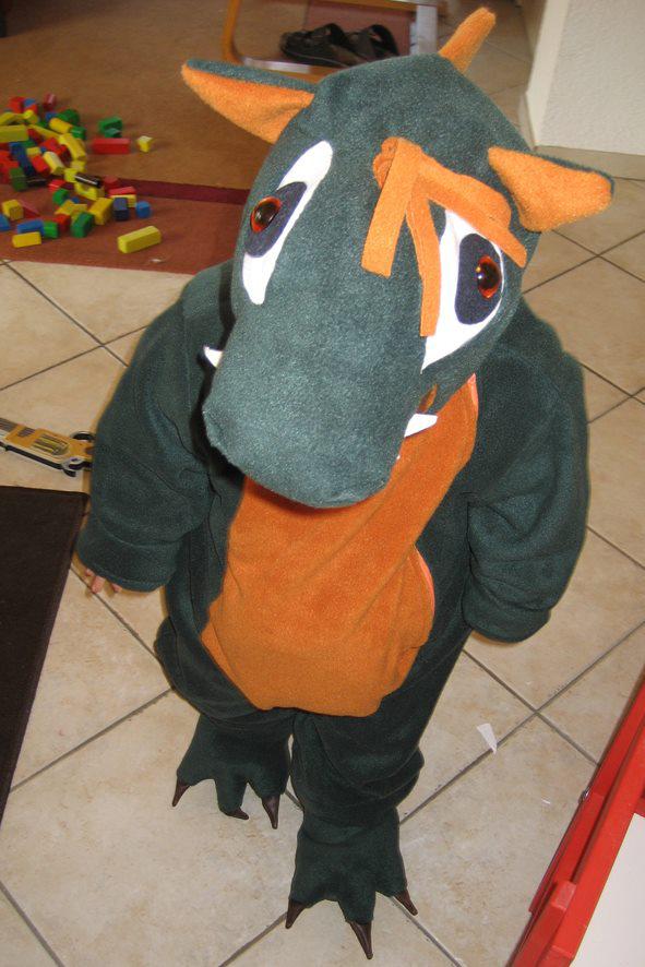 Dinosaurier- / Drachenkostüm