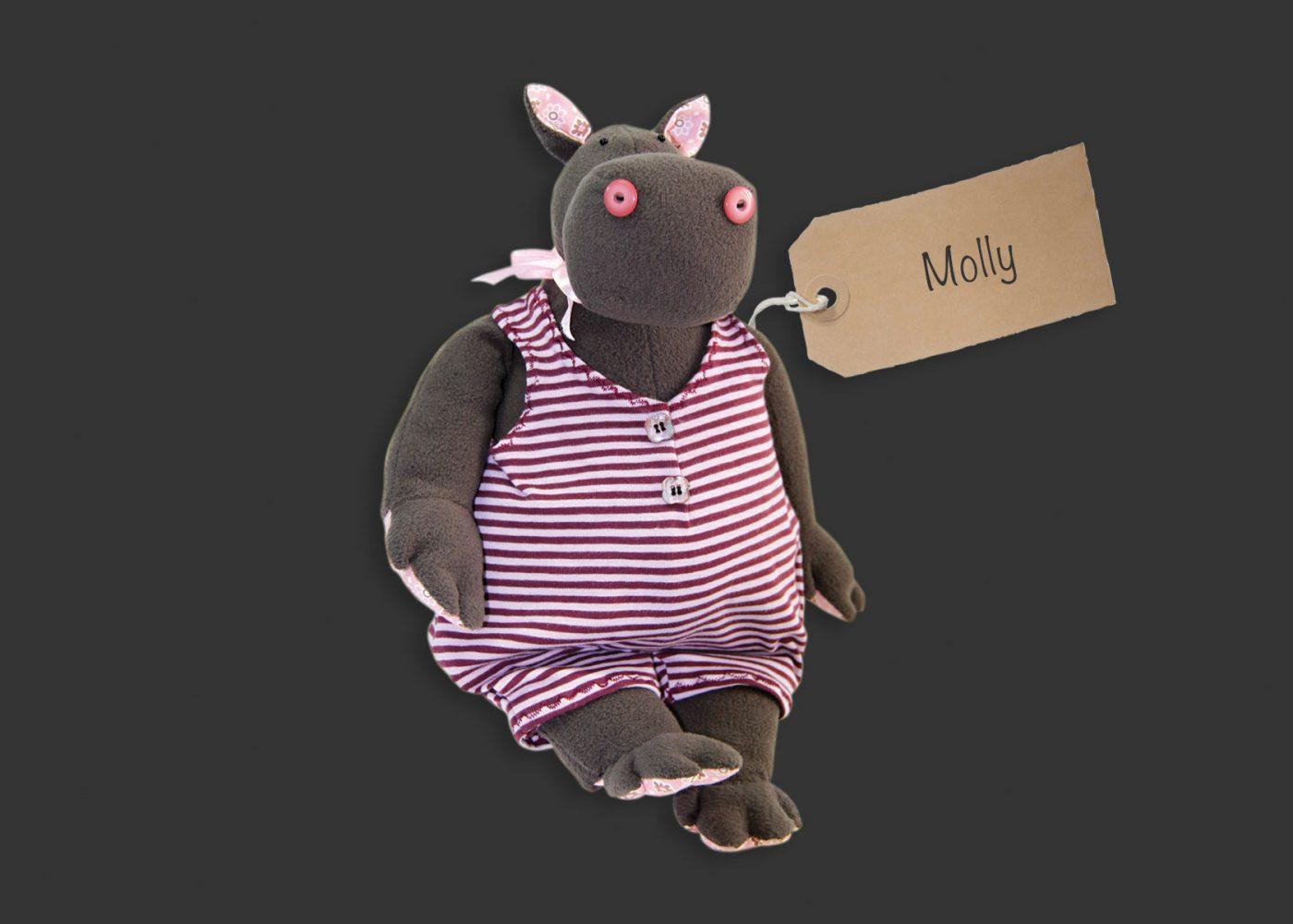 Hippos –  Einzigartige Kuscheltiere und mit Seele