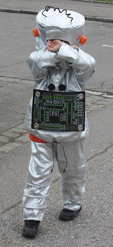 Roboter oder Astronaut