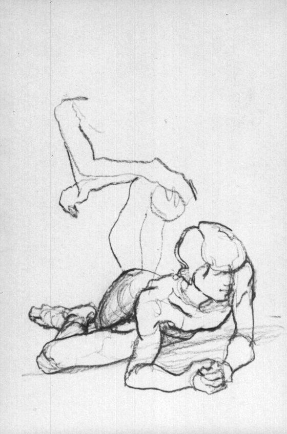 Zeichnungen Studienzeit Akt