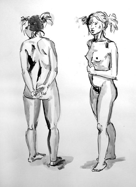 Tuschezeichnungen