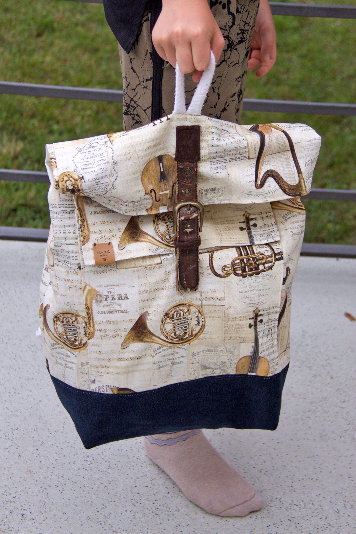 Rucksack Musikinstrumente