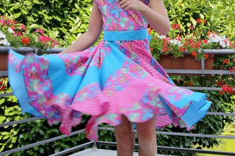 Peppermint Swirl Dress Butterfly