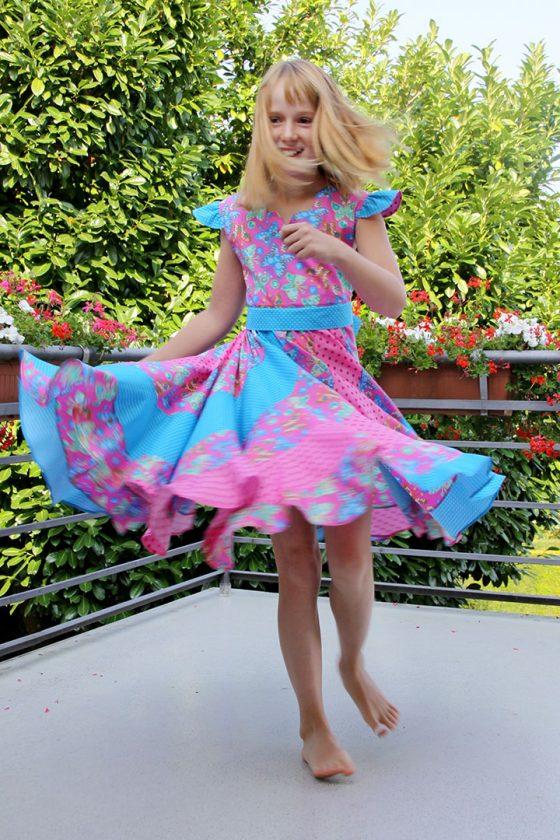 Peppermint Swirl Dress Butterfly